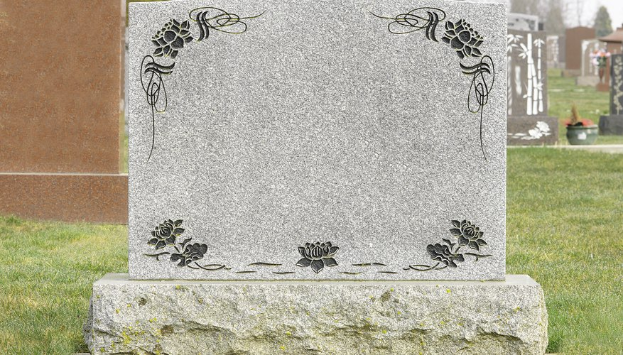 Cost of headstone engraving
