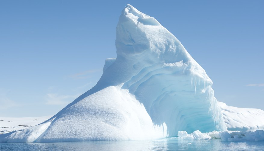 Glaciers emit IR radiation.