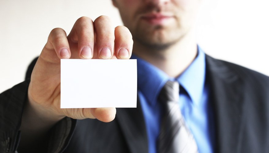 Make sure you have inventory and plenty of business cards.