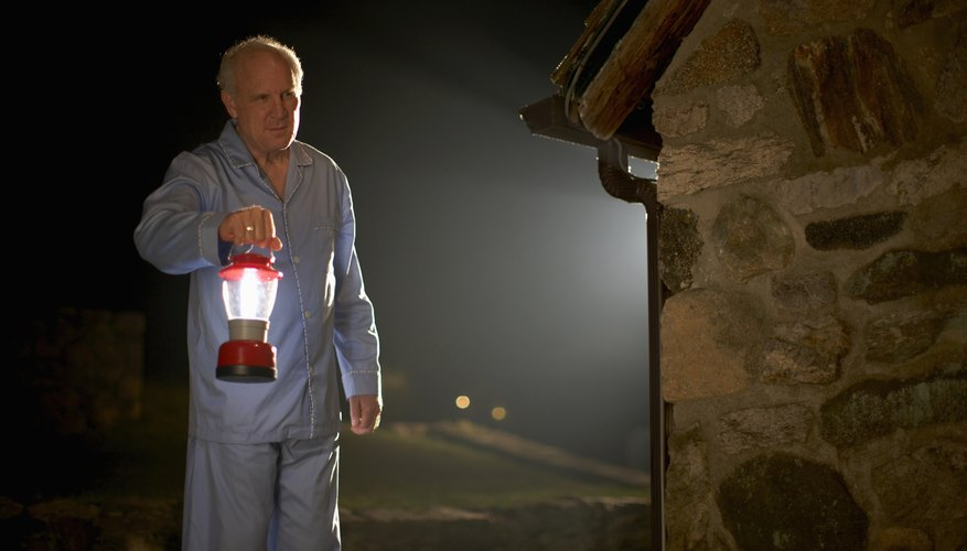 Battery-operated lanterns are useful for around the house and camping.