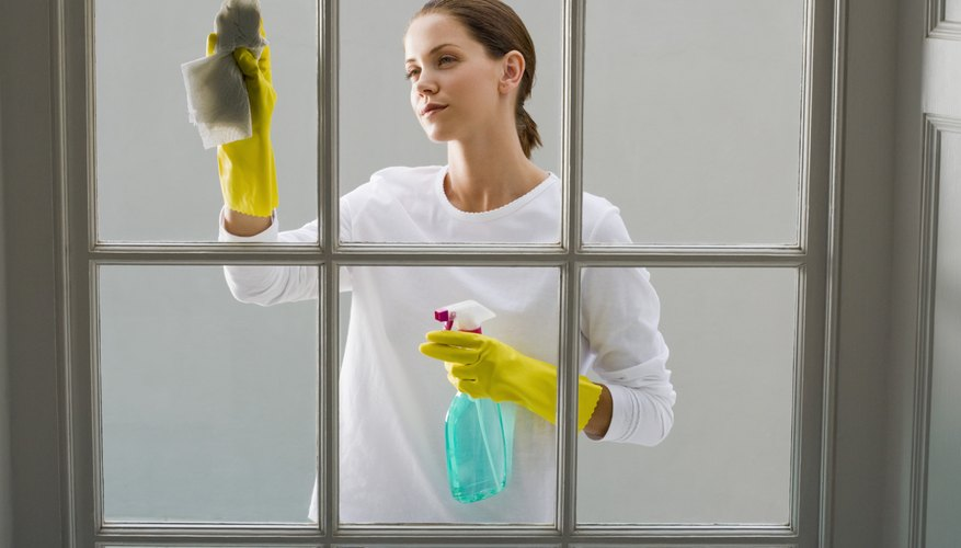 Small steps like window cleaning will improve the appraiser's overall impression of your home and show him that it has been well maintained.