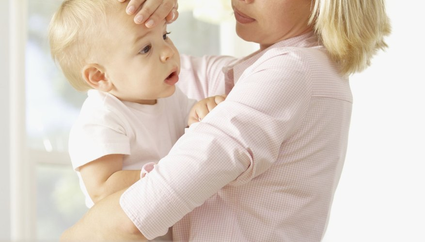 Babies are susceptible to many different viruses.