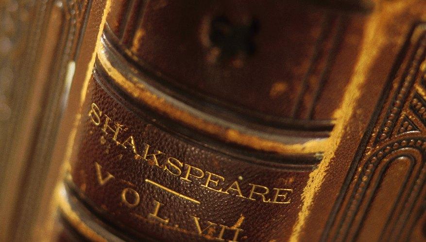 Shakespeare es uno de los grandes escritores en lengua inglesa.