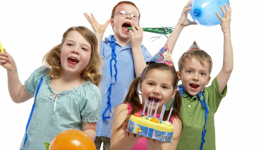 Kids are always up for a good birthday party.
