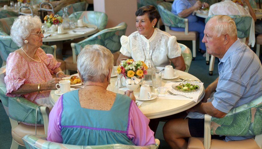 Nursing homes and assisted living facilities provide full-time care for the elderly.
