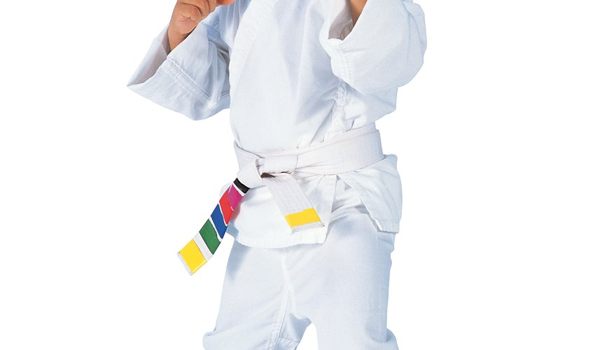 Karate can help kids learn to focus.