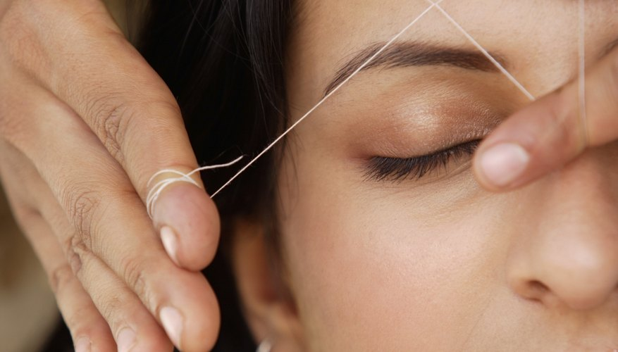 Few states require eyebrow-threading techs to be licensed.