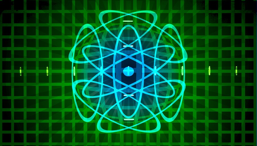 Atoms are comprised of particles, each with a negative, positive, or neutral electric charge.
