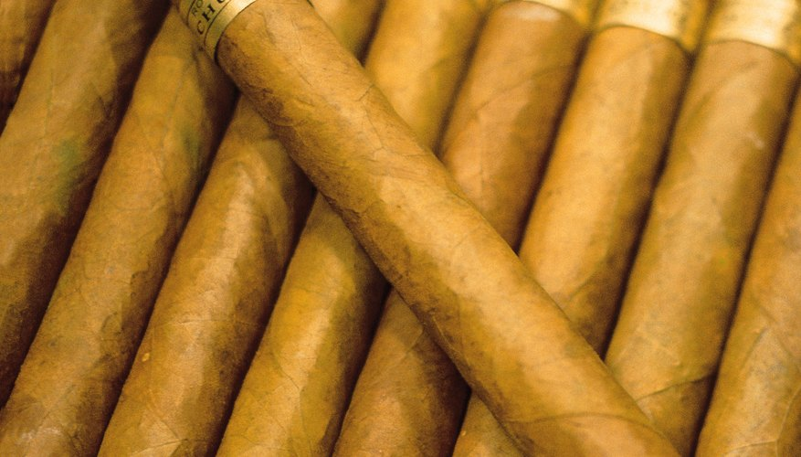There are a wide variety of cigars from which to choose.