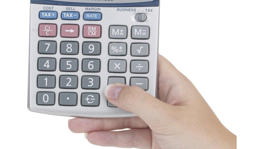 Cómo usar una calculadora.