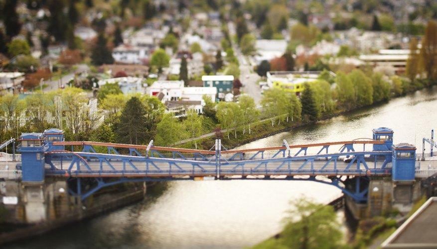Diviértete construyendo un modelo de puente levadizo.