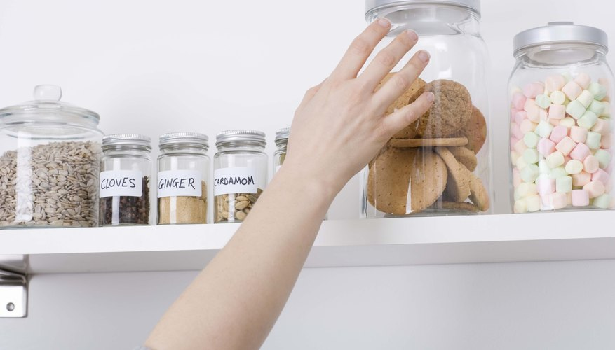 hand reaching for cookie jar