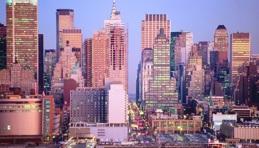 There are several ways for teens to view the spectacular skyline of Manhattan.