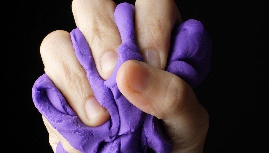 Play-Doh es un material versátil pero endeble.