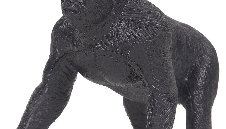 Puedes hacer tu propio disfraz de gorila con este fácil patrón.