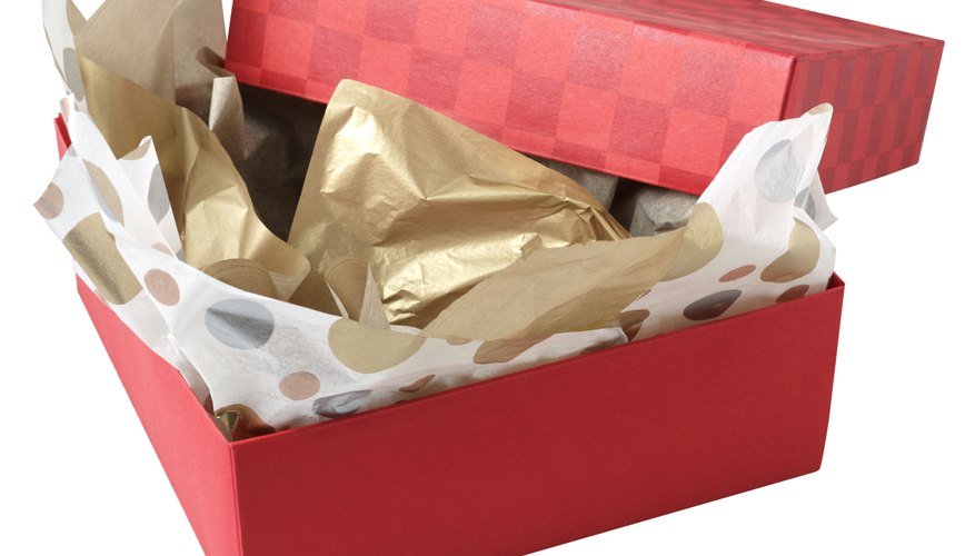 Tissue paper is often used to protect gifts.