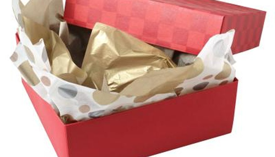 Make your gifts extra special by creating your own gift box.