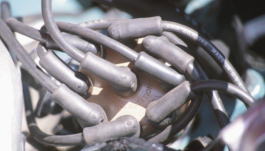 Close up of car plugs
