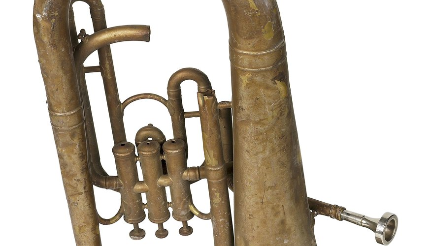 Baritones have three valves that help create multiple pitches.