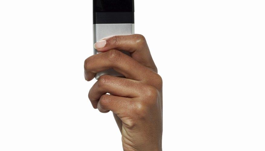 Cómo aumentar el volumen del auricular de un iPhone.