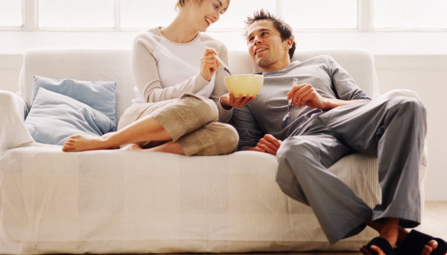 Unmarried couples can own houses just like married ones.