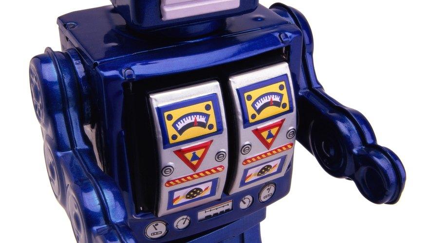 Hacer un robot es una tarea que requiere mucha dedicación y paciencia.