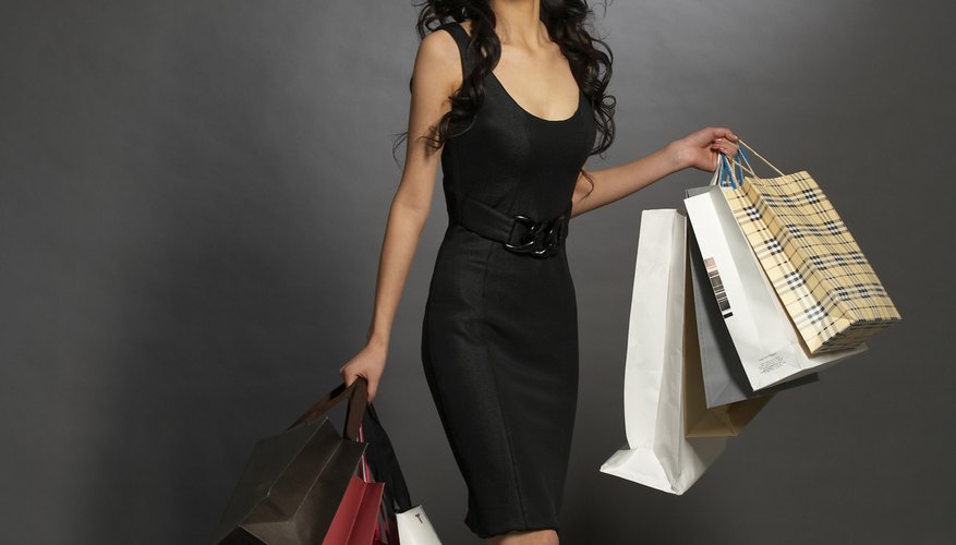If you're a shopaholic, saving money takes discipline but it's possible.