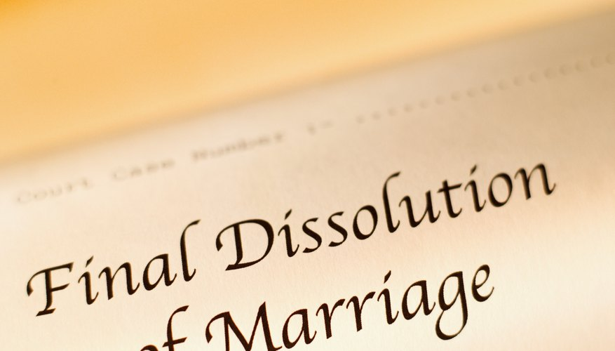 Your lender may ask for proof of divorce to consider it a hardship.