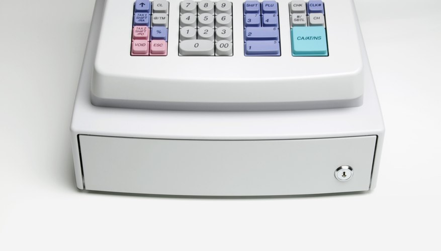 Programa una caja registradora Royal 145 y utilízala para tu negocio.