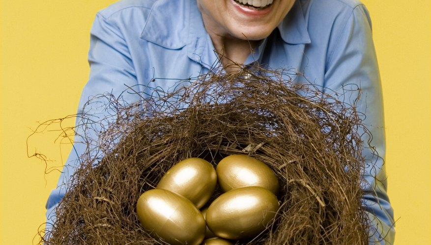 A balanced portfolio helps your nest egg grow to a healthy size.