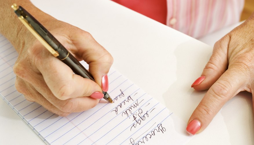 Haz una lista.