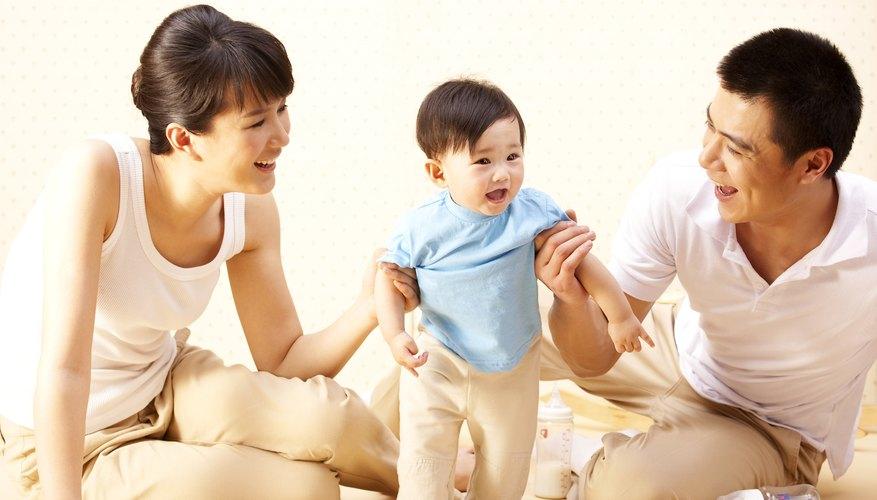 Negative environmental factors impede infant development.