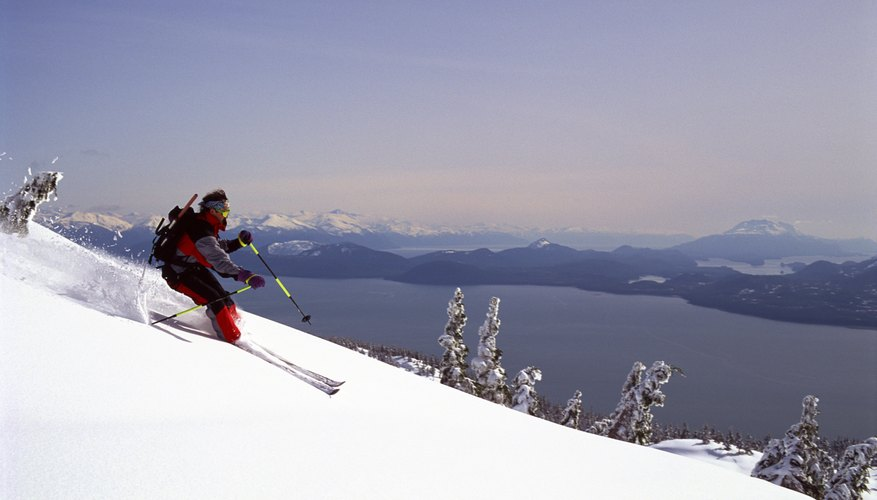 Skiing comes with a view at Eaglecrest in Juneau.