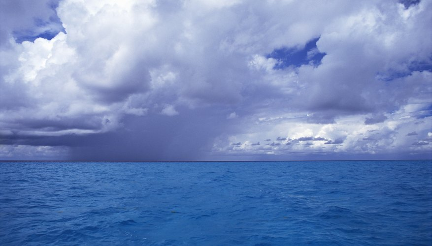 Sea breeze fronts produce frequent tropical thunderstorm actvitiy.
