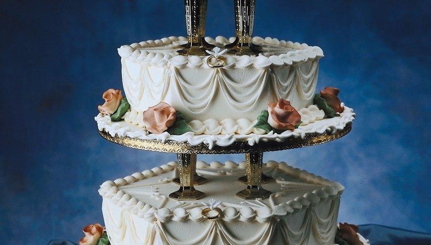 Pastel de bodas.