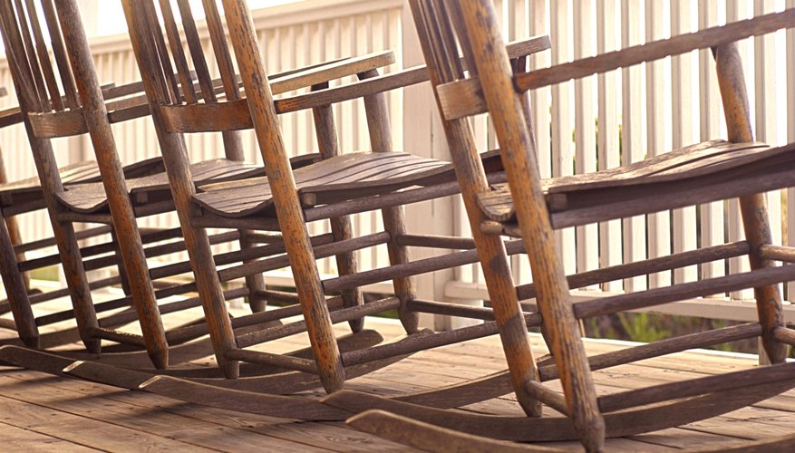 Manufacturer's marks are not the only way to authenticate an antique chair's  origin. - How To Identify Symbols Found On The Bottom Of Old Rocking Chairs