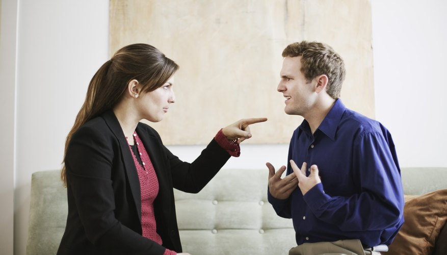 Dishonesty in a relationship can lead to arguments or a separation.