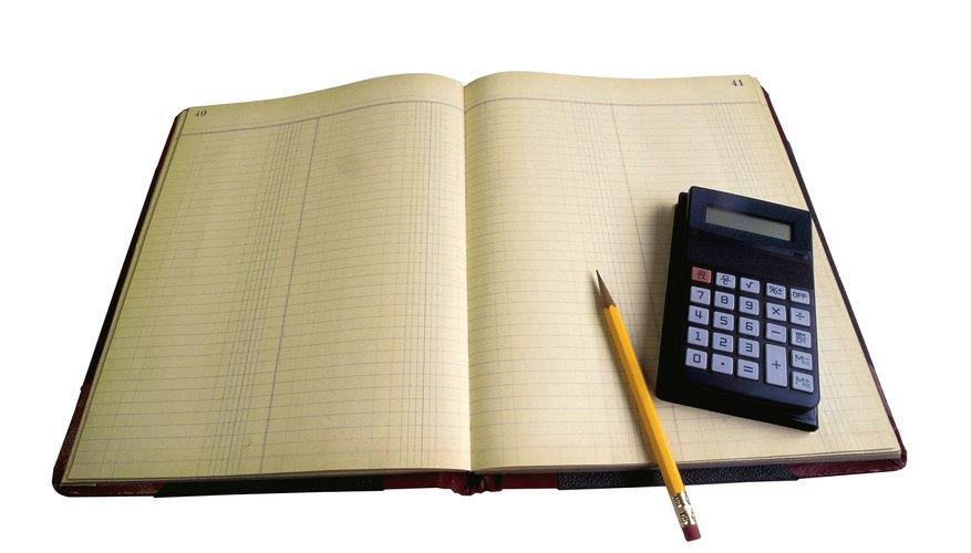 Lleva un registro de todas las transacciones comerciales mediante el uso de un libro de contabilidad general.