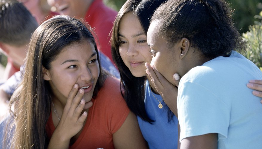 Gossip, drama and rumors can make middle school tough.