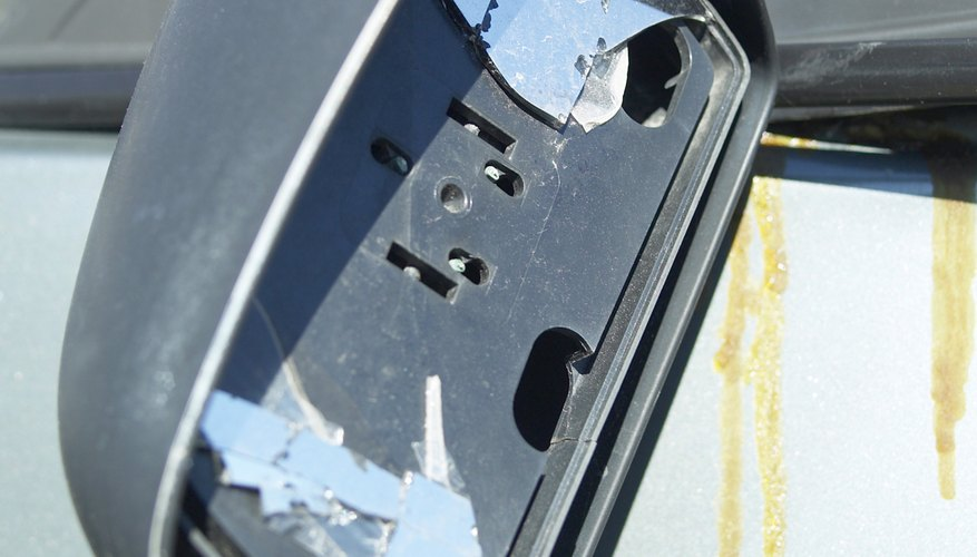 Cómo solucionar los problemas de un espejo retrovisor eléctrico trasero.