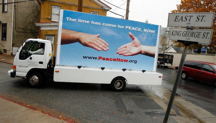 Mobile billboard in Annapolis, MD