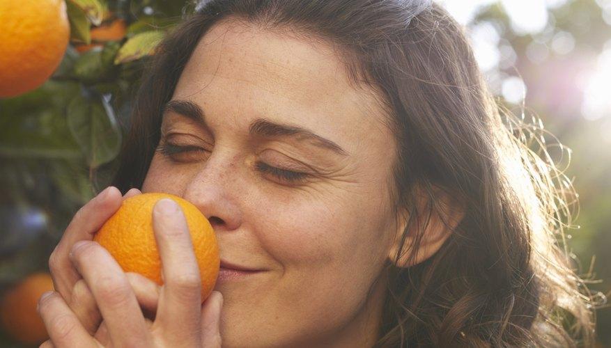La naranja es un hesperidio, que es una baya con una corteza gruesa.