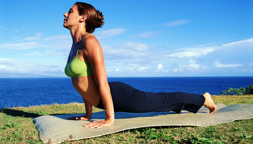 Many yoga postures involve using your arms.