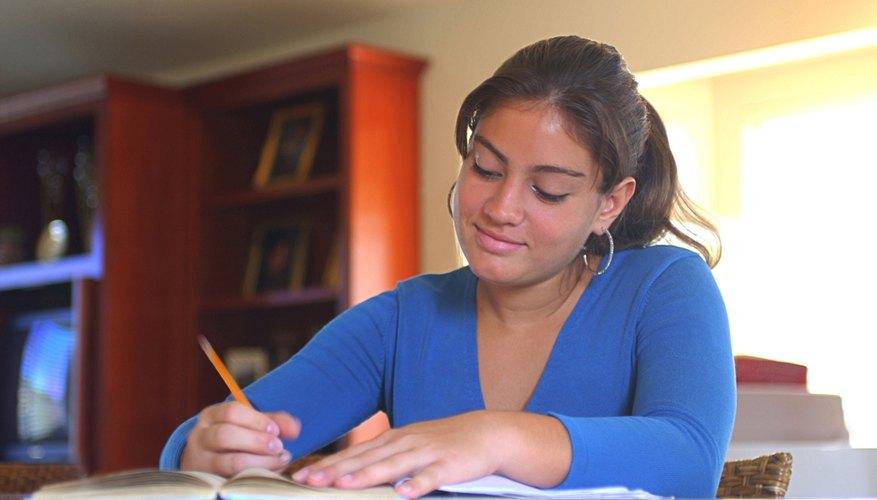 Teen centers often have quiet homework areas.