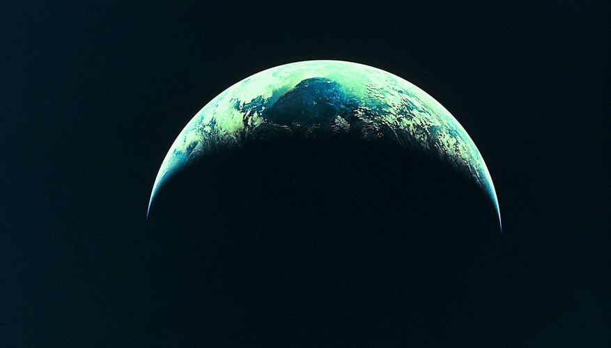 The length of day and night is determined by Earth's rotation and orbit.