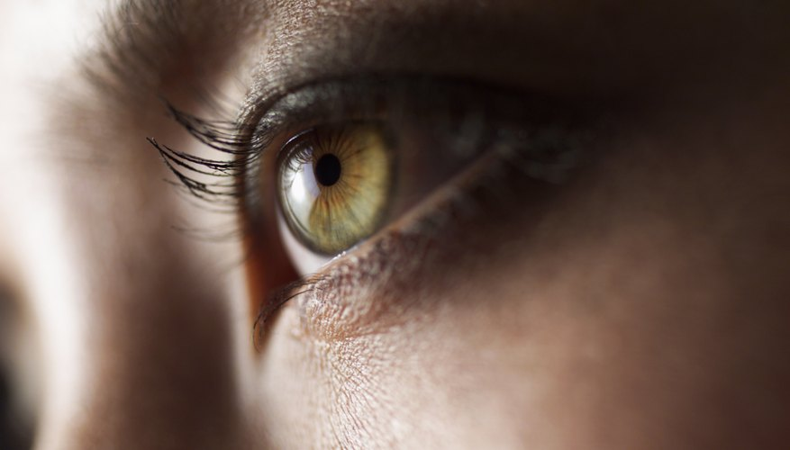 Close up shot of a woman's eye