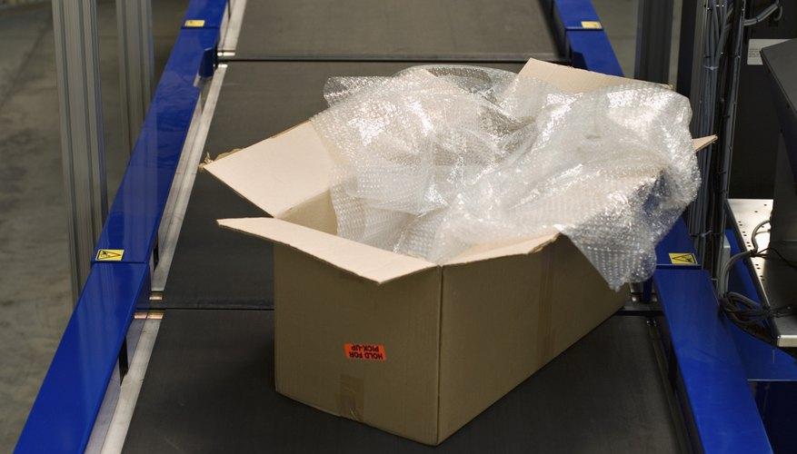 Plastic packing materials