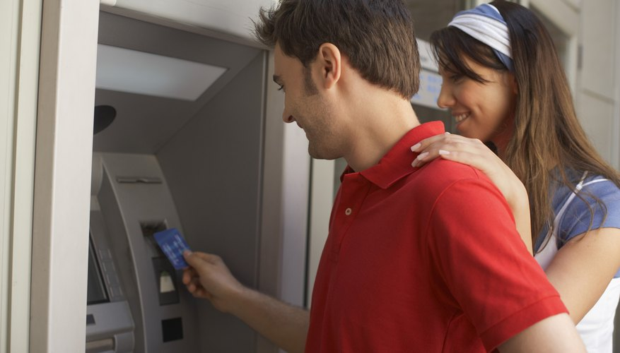 ATM withdrawals might first appear as pending withdrawals.