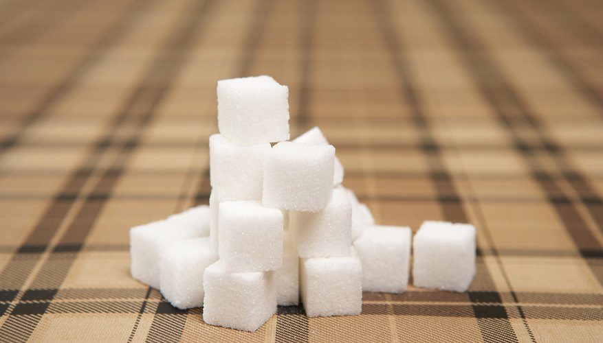 Sugar cubes are an interesting medium to create multiple craft items.