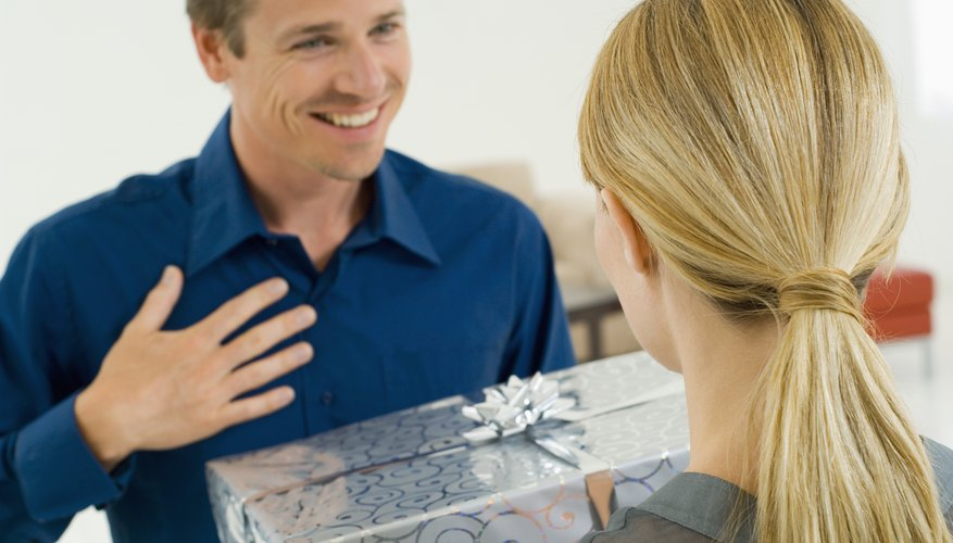 Surprise him with a unique romantic gift.